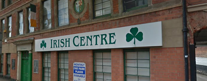 A snapshot of the Irish Centre in Nottingham